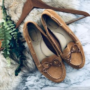 Sperry Brown Leather Moccasins (10)